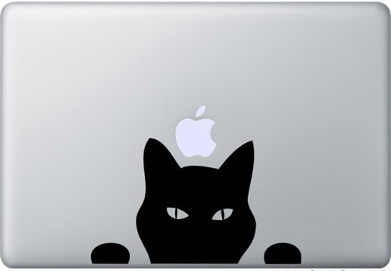 Kat Laptop Sticker