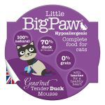 Little Big Paw Eend Mousse natvoer