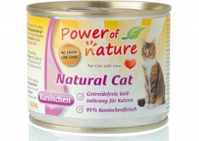 Power of Nature - Natural Cat - Konijn (natvoer)