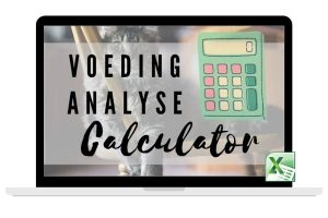 Voeding Analyse Calculator (small)